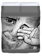 Cry Of The Oppressed Duvet Cover