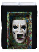 Crying Mask In Box Duvet Cover