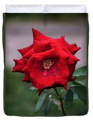 Crying Rose Duvet Cover