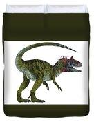 Cryolophosaurus Dinosaur Tail Duvet Cover