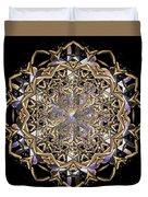 Crystal Ahau 2 Duvet Cover
