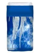Crystal Blue Duvet Cover