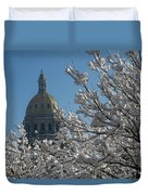 Crystal Capitol Duvet Cover