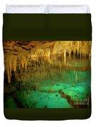 Crystal Cave Hamilton Parish Bermuda Duvet Cover