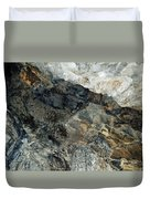 Crystal Cave Marble Ceiling Duvet Cover