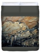 Crystal Cave Marble Duvet Cover