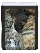 Crystal Cave Portrait Sequoia Duvet Cover