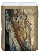 Crystal Cave Walls Duvet Cover