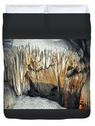 Crystal Cave Waves Duvet Cover