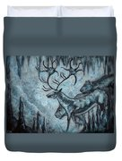 Crystal Cavern Procession Duvet Cover