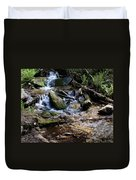 Crystal Clear Creek Duvet Cover