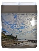 Crystal Cove Too Duvet Cover