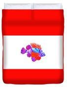 Crystal Fish - 20 Duvet Cover