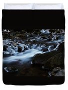 Crystal Flows In Hdr Duvet Cover by Joseph Noonan