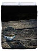 Crystal Frost Duvet Cover