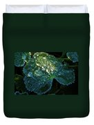 Crystal Lady's Mantle Duvet Cover