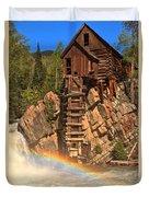 Crystal Mill Rainbow Duvet Cover