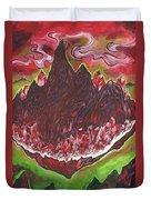 Crystal Mountain Duvet Cover