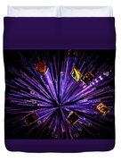 Crystal Reports Duvet Cover