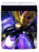 Crystalized Ecstasy Abstract  Duvet Cover