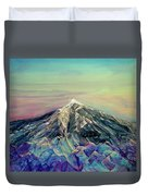 Crystalline Mountain Duvet Cover