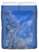 Crystalline Sky Duvet Cover