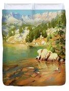 Crystalline Waters Duvet Cover