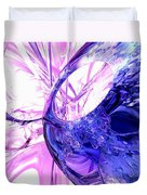 Crystallized Abstract Duvet Cover
