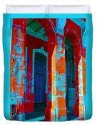 Cuba Architecture Duvet Cover