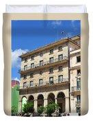 Cuban Building. Duvet Cover