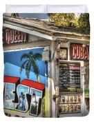 Cuban Coffee Queen Duvet Cover