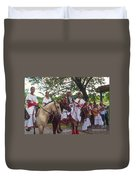 Cuban Entertainment  Duvet Cover