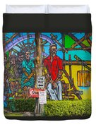 Cuban Street Art Duvet Cover