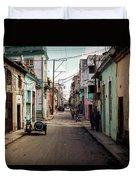 Cuban Street Duvet Cover