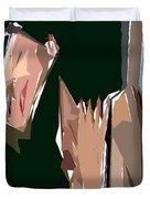 Cubism Series Xiii Duvet Cover
