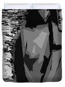 Cubism Series Xvii Duvet Cover