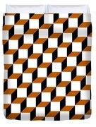 Cubism Squared Duvet Cover