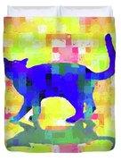 Cubist Cat Duvet Cover