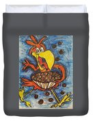 Cuckoo For Cocoa Puffs Duvet Cover