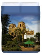 Cuenca Is A World Heritage Site Duvet Cover