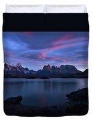 Cuernos Sunrise Part 1 - Chile Duvet Cover