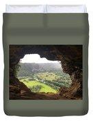 Cueva Ventana Duvet Cover