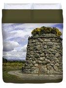 Culloden Battlefield Cairn Duvet Cover