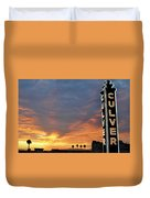 Culver City Marquee Duvet Cover