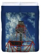 Culver Fire Tower Duvet Cover