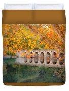 Cumberland Mountain State Park Bridge Duvet Cover