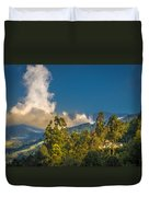 Giant Over The Mountains Duvet Cover