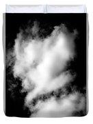 Cumulus Congestus Clouds Dog Shapes Duvet Cover