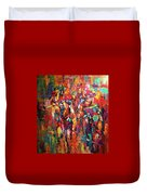 Cup Runneth Over Duvet Cover