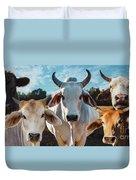 Cupcake Cows Duvet Cover